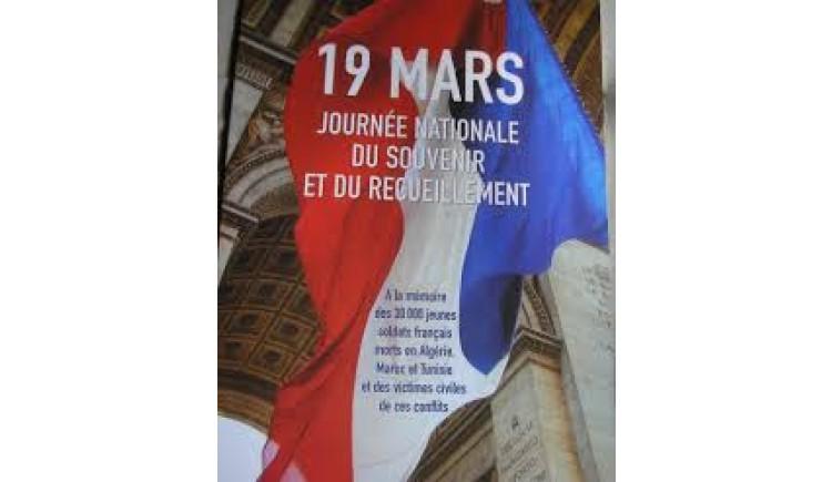 photo Cérémonie du 19 mars à huis clos