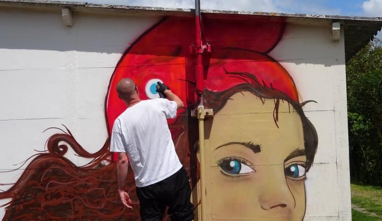 photo Inauguration de la fresque murale de l'AEDAH