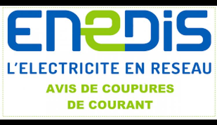 photo Info ENEDIS - Coupure de courant pour travaux
