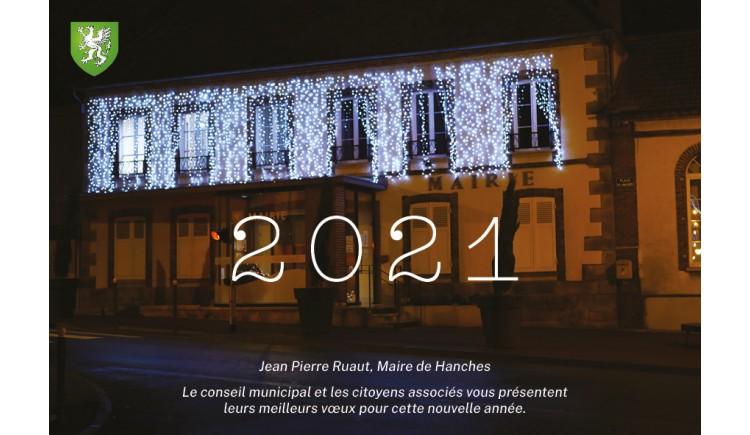 photo Les vœux 2021 de Jean Pierre RUAUT en vidéo