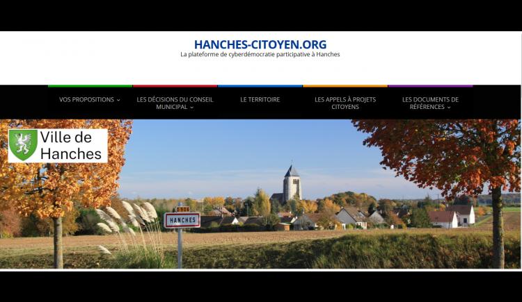 photo Lancement d'une plateforme de cyberdémocratie participative à Hanches