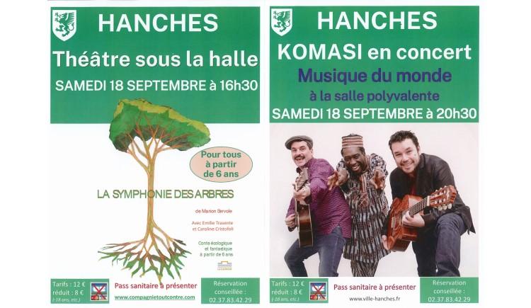 photo Evènements à Hanches le samedi 18 septembre
