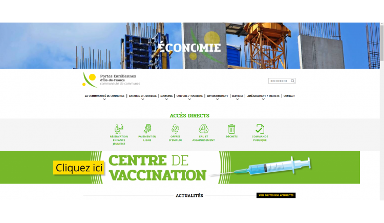 photo Toutes les actualités de la ComCom sont consultables sur le site internet https://www.porteseureliennesidf.fr/