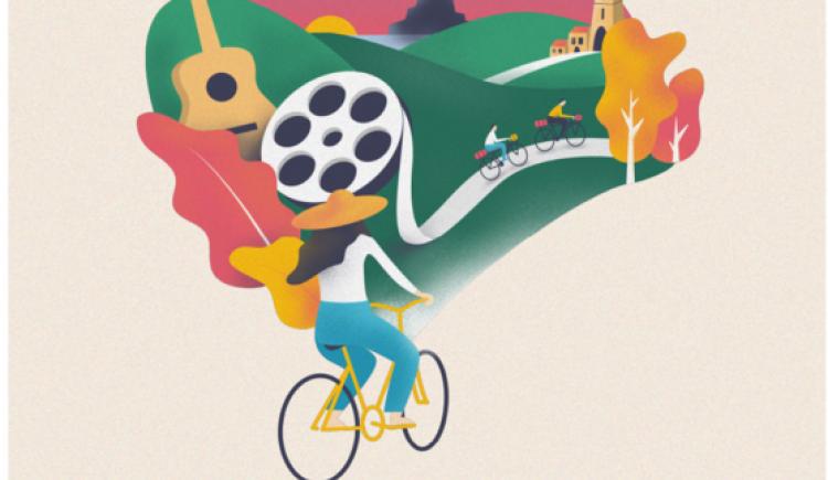 photo Cinécyclo Tour, une tournée de cinéma à vélo à Epernon