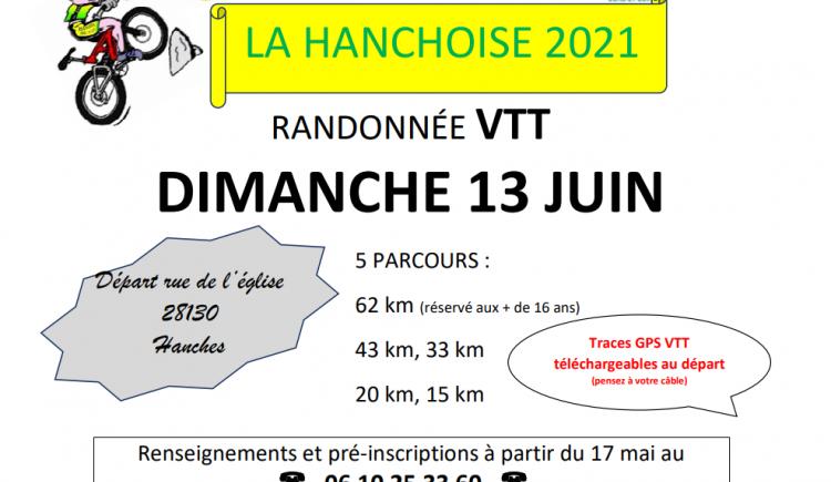 photo ASC Hanches/Section VTT - Randonnée VTT - La Hanchoise 2021