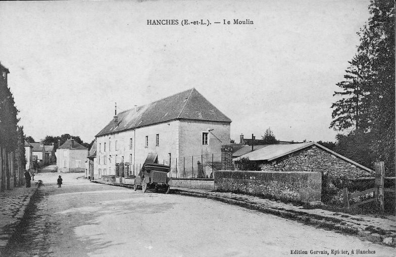Moulin de Hanches en 1910