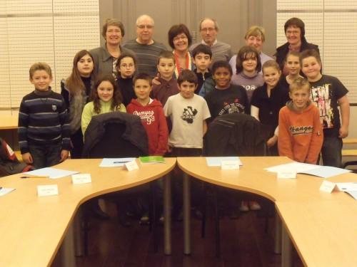 Le premier conseil municipal des enfants