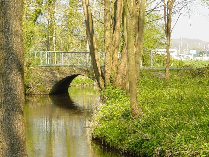 Pont sur la Drouette à Vinerville