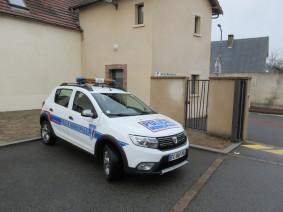 Véhicule de la de police municipale